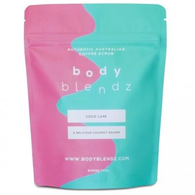 BodyBlendz Coco Luxe Coffee Scrub